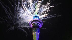 Pasaulis pasitinka naują istorijos dešimtmetį: Naujosios Zelandijos gyventojai senuosius metus palydėjo be gailesčio