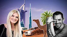 """""""Pasaulis namuose"""": A.Juodiškis Dubajuje nenaudoja tualetinio popieriaus ir siūlo į parką eiti su lazda: """"Dėl durnių visi normalūs sėdi užstrigę"""""""