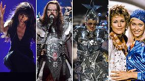 """Prisiminkite: TOP 10 ryškiausi visų laikų """"Eurovizijos"""" pasirodymai"""