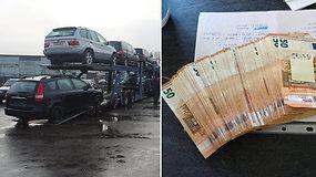 FNTT kratos: 16 įtariamųjų, nesumokėtų mokesčių – trečdalis milijono eurų
