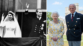 Princui Philipui – 99-eri: saugodamasis koronaviruso gimtadienį kartu su Elizabeth II sutiko Vindsoro pilyje