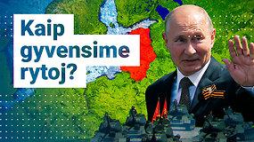 Ekspertas pataria reaguoti į grėsmingas Maskvos žinutes: V.Putinas atvirai grasina Baltijos šalims
