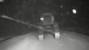Šilalės r. girto traktorininko gaudynės baigėsi avarija