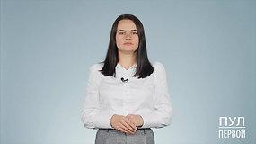 S.Cichanouskaja kreipėsi į rusus: ragino netikėti Kremliaus propagandos melais