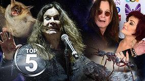 Beprotiškiausių Ozzy Osbourne'o nuotykių TOP 5: skruzdės vietoj kokaino, nukąsta šikšnosparnio galva ir negailestingas nuosprendis žmonai