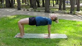 Judėk sveikai su Gerda: dinaminiai tempimai raumenims ir laikysenos bei kvėpavimo pratimai