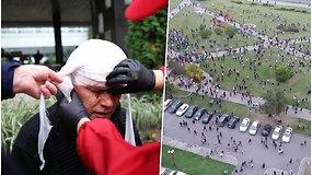 Baltarusiai protestuoja jau ilgiau nei 2 mėnesius: po savaitgalio – beveik 600 sulaikytųjų