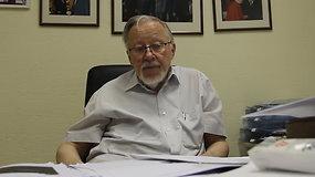 """Prof. Vytautas Landsbergis: """"Mano tetos vyras Holokausto metu slapstėsi spintoje"""""""