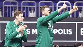 """Ilgiausia sezono pergalių serija: naujametinio """"Žalgirio"""" triumfo momentai"""