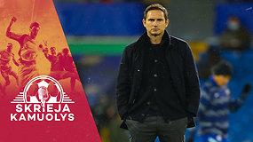 """Skrieja kamuolys"": V.Dambrauskas, V.Basadre, sąmokslas prieš italus, ""Chelsea"" progresas ir ""Schalke"" kančios"