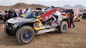 Vienuoliktosios Dakaro dienos startas: prieš akis – vienas ilgiausių greičio ruožų