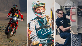 """Svarbiausios Dakaro naujienos su A.Gelažninku: įgyvendinti tikslai ir ateities planai bei B.Vanago """"rekordas"""""""