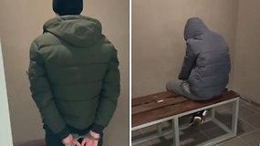 Netrukus po vagystės nepilnamečiai atsidūrė areštinėje