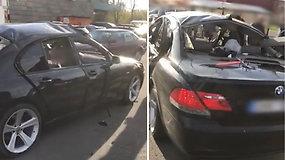 Baigėsi ikiteisminis tyrimas dėl rezonansinio įvykio: bandė susprogdinti kitą automobilį, bet susprogdino savo BMW