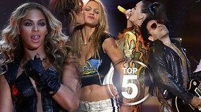 """Prisiminkite: geriausių """"Super Bowl"""" pertraukos pasirodymų TOP 5"""