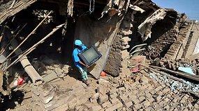 Peru supurtė žmonių gyvybių pareikalavęs žemės drebėjimas