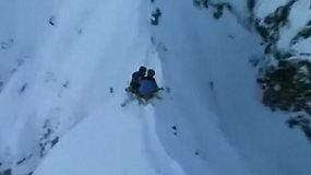 Įkalinti kalnuose: du slidininkai naktį praleido 914 m aukštyje