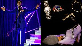 Violetinis aukcionas: parduodamos dainininko Prince'o relikvijos