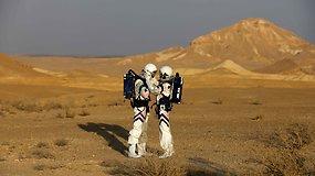 Gyvenimas imituotame Marse: Izraelio dykuma mokslininkams atstojo Raudonąją planetą