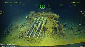 Milijardierius papasakojo, su kokiais sunkumais susidūrė jūros dugne ieškant nuskendusio lėktuvnešio
