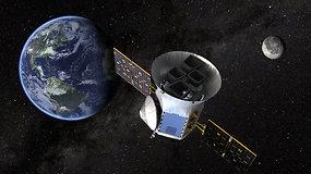 Naujų egzoplanetų medžiotojas: NASA į jų paieškas paleis palydovą