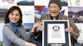 Seniausias pasaulyje gyvas vyras – 112-os metų japonas