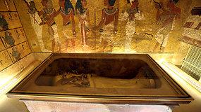 Tutanchamono slapti kambariai neegzistuoja – mokslininkai paneigė hipotezę