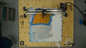 """Robotas – dailininkas: menininkui piešti padeda """"Sozo"""""""