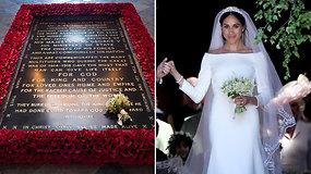 Meghan Markle tęsia tradicijas: vestuvinę puokštę padėjo ant nežinomo kario kapo