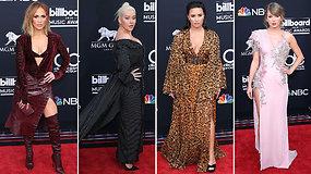 """Muzikos žvaigždės žibėjo ant raudonojo""""Billboard"""" apdovanojimų  kilimo"""