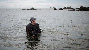 Prancūzas pasiryžo tapti pirmuoju Ramųjį vandenyną perplaukusiu žmogumi