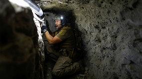Pasižvalgykite po slaptus požeminius tunelius ties JAV ir Meksikos siena