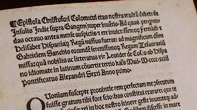 Mįslingai pavogta 525 m. senumo K.Kolumbo laiško kopija grąžinta į Vatikaną