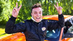 """""""Rally Classic"""" Druskininkai veidai: Aras Kalėda"""