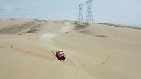 """""""CRAFT bearings"""" komandos testai Peru smėlyje"""