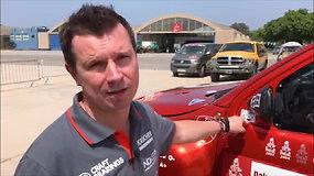 Dakaro techninė komisija: ko reikia, kad automobilis galėtų startuoti?