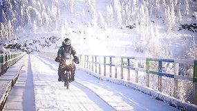 Karolis Mieliauskas septintą dieną praleido šaltyje – stebino sutikti motociklininkai