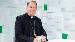 Gintaras Grušas apie bendravimą su popiežiumi Pranciškumi: lyg kalbėčiau su tėvu