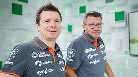 A.Juknevičius ir D.Vaičiulis susirungė pirmojoje Dakaro dvikovoje ir pasakojo apie artėjantį išbandymą