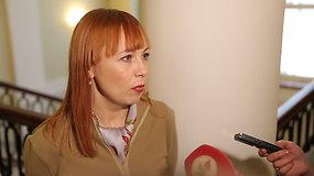 ŠMM okupavę mokytojai sulaukė ministrės: lipti per langus nėra konstruktyvus dialogas