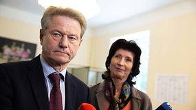 L.Paksienė apie savo vyrą Rolandą: geriau jūs jo netardykit, jis žemaitis yra