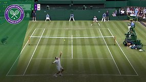Rogeris Federeris - Lloydas Harrisas. Dvikovos akimirkos