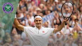 Rogeris Federeris – Lucas Pouille. Dvikovos akimirkos