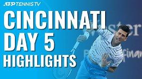 """ATP """"Masters"""" turnyro Sinsinatyje ketvirtfinalių apžvalga"""