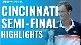 Western & Southern Open ATP pusfinalių apžvalga