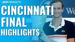 """Western & Southern Open"" finalo apžvalga – D.Medvedevas prieš D.Goffiną"