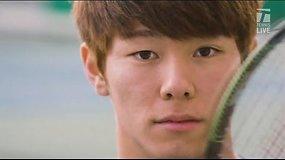 """Tennis Channel"" reportažas: Duckhee Lee istorija"