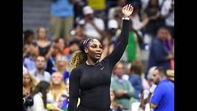 """""""US Open"""": Serena Williams prieš Mariją Šarapovą"""