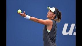"""""""US Open"""": Garbine Muguruza prieš Alison Riske"""