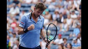 """US Open"": Stanas Wawrinka prieš Paolo Lorenzi"